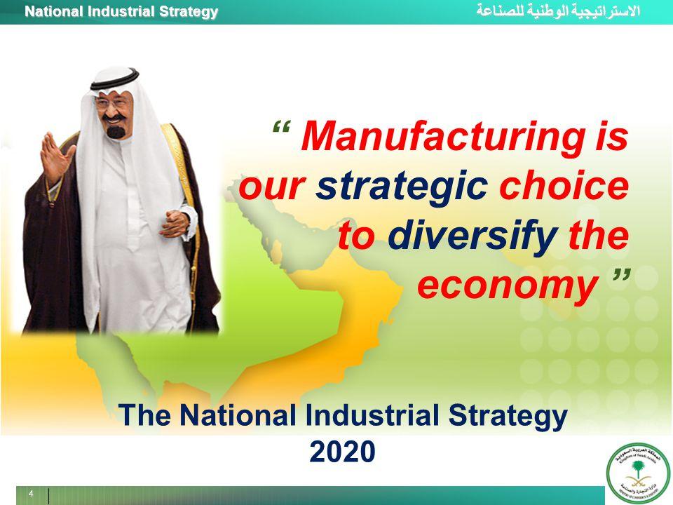 الاستراتيجية الوطنية للصناعة National Industrial Strategy 5 New Phase of Industrialization