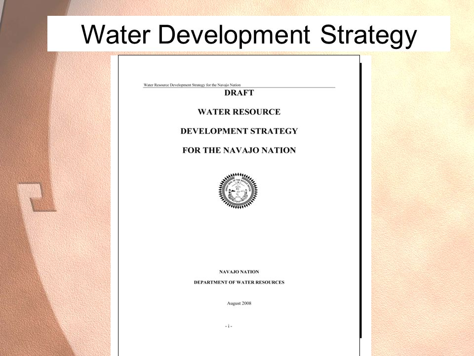 Water Development Strategy