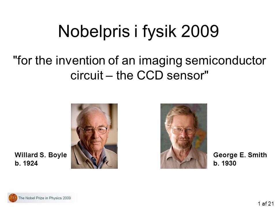 1 af 21 Nobelpris i fysik 2009