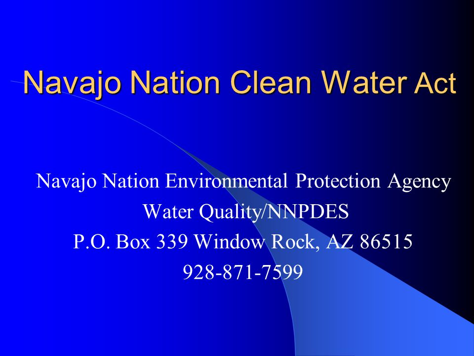What Is the Clean Water Act.