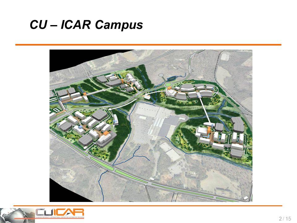 / 15 CU – ICAR Campus 2