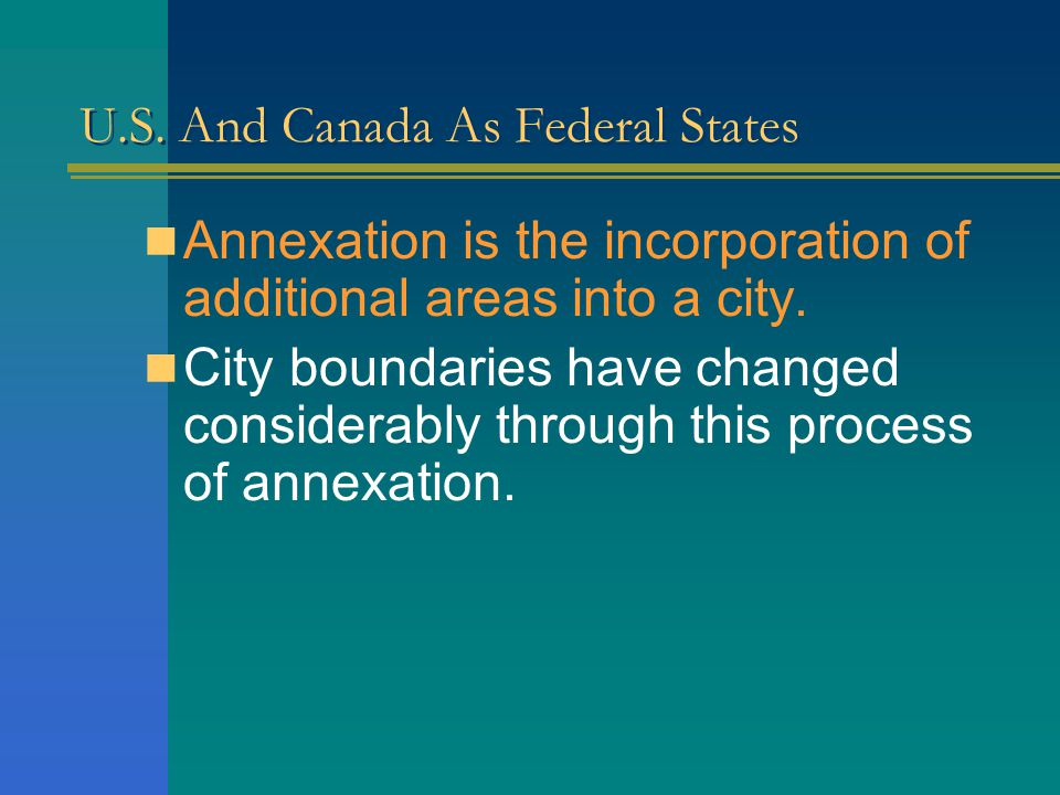 U.S. And Canada As Federal States There are over 19,000 such units, ranging in population from fewer than 100 people to 7 million in new York city. Ur