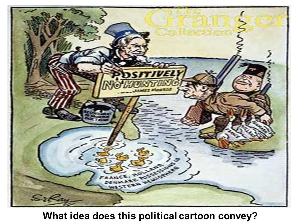 What idea does this political cartoon convey?