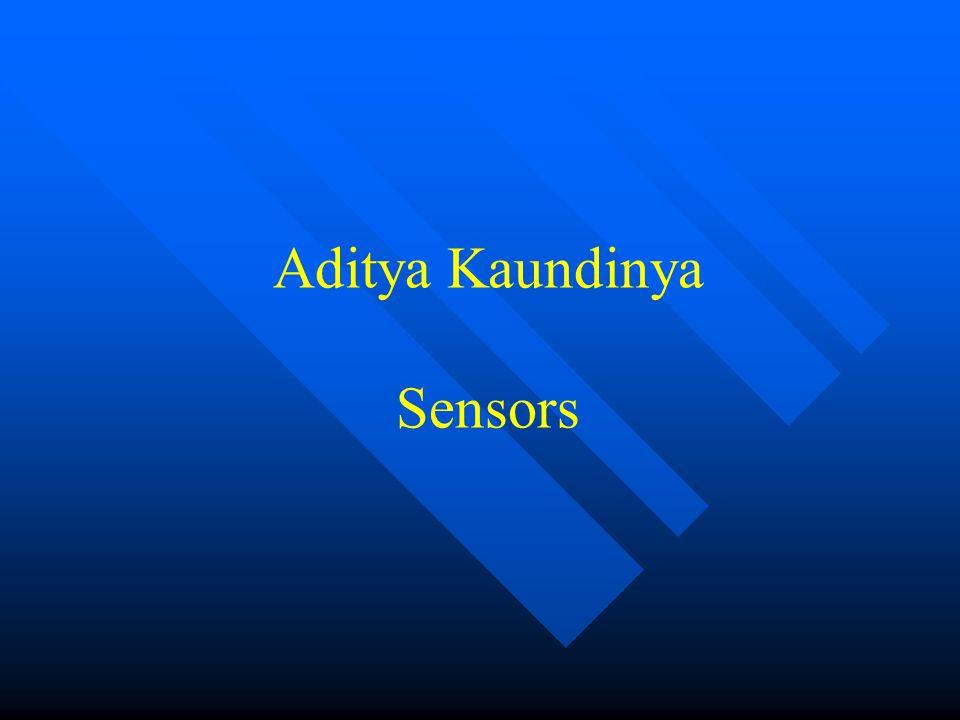 Aditya Kaundinya Sensors