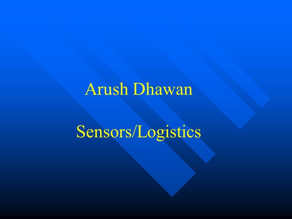 Arush Dhawan Sensors/Logistics