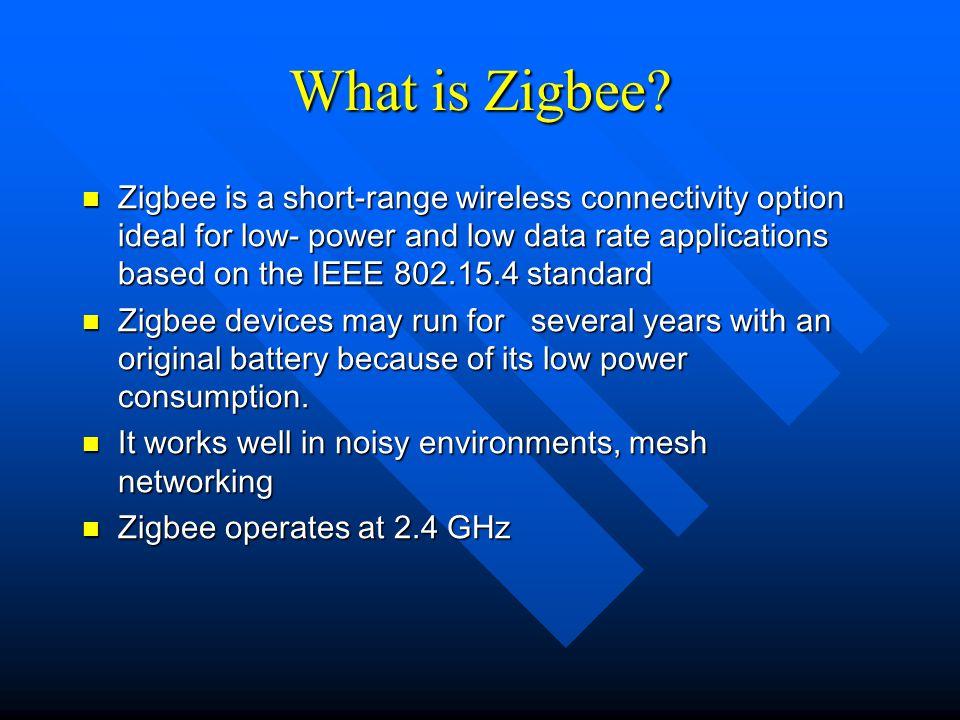 What is Zigbee.