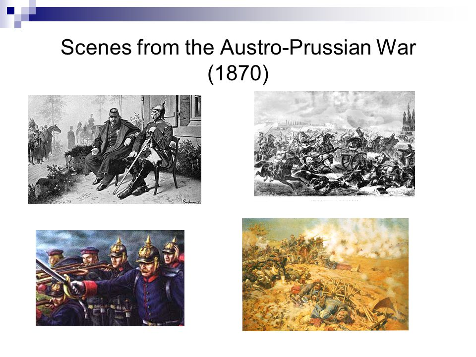 Scenes from the Austro-Prussian War (1870)