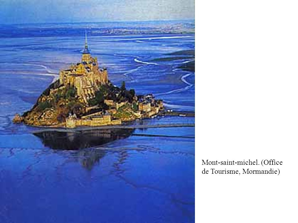 Mont-saint-michel. (Office de Tourisme, Mormandie)