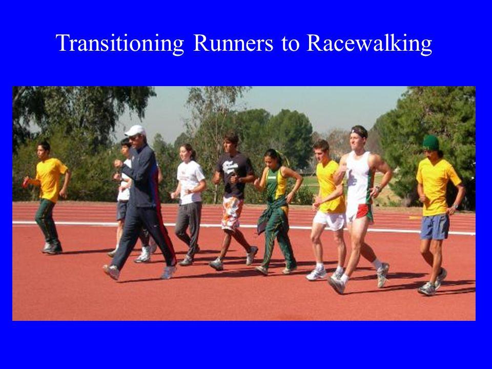 Transitioning Runners to Racewalking