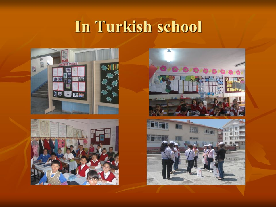 In Turkish school