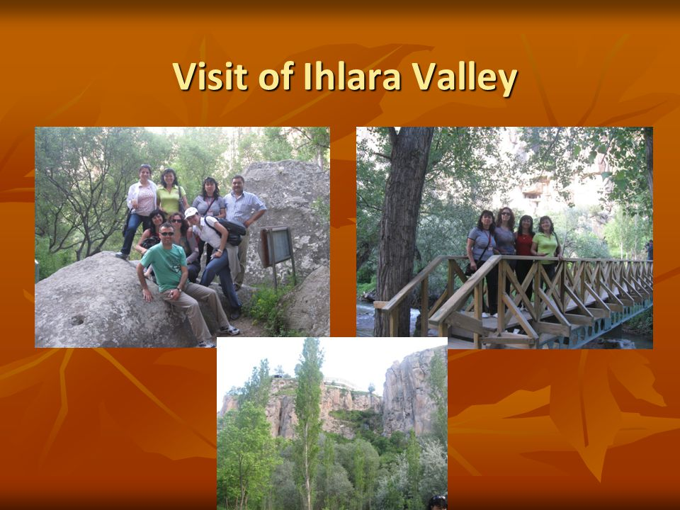 Visit of Ihlara Valley Visit of Ihlara Valley