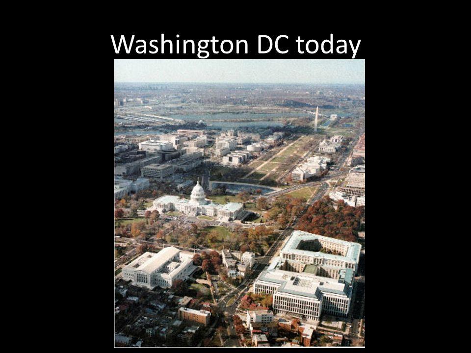 Washington DC today