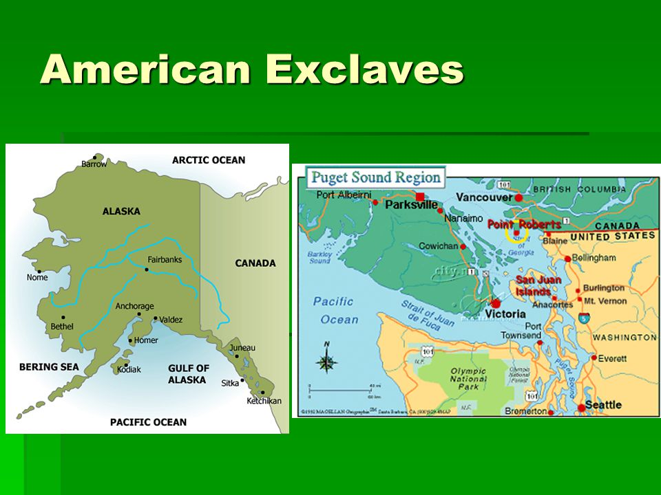 American Exclaves