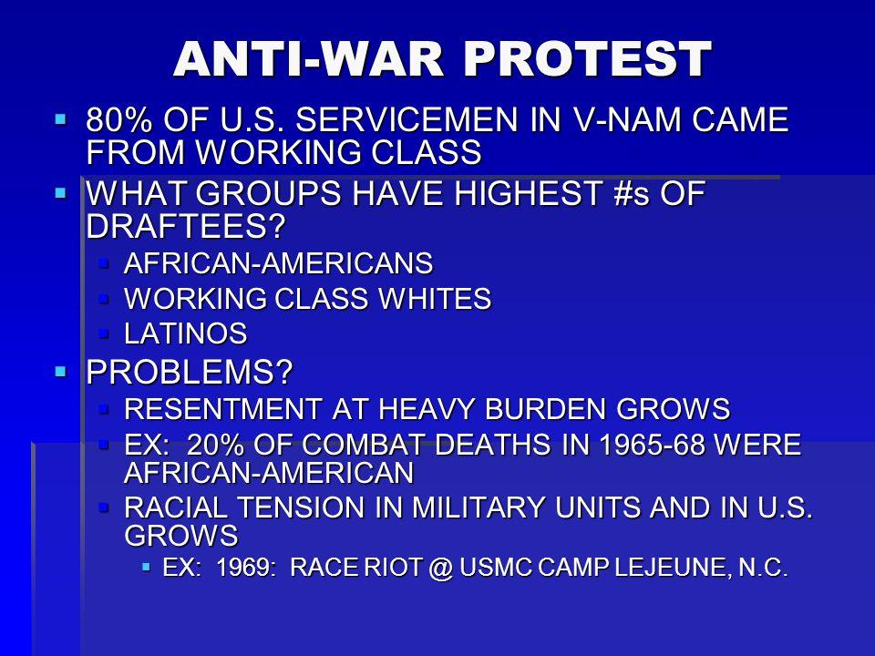 ANTI-WAR PROTESTERS, WASHINGTON, D.C., 1968 ANTI-WAR PROTESTERS, WASHINGTON, D.C., 1968