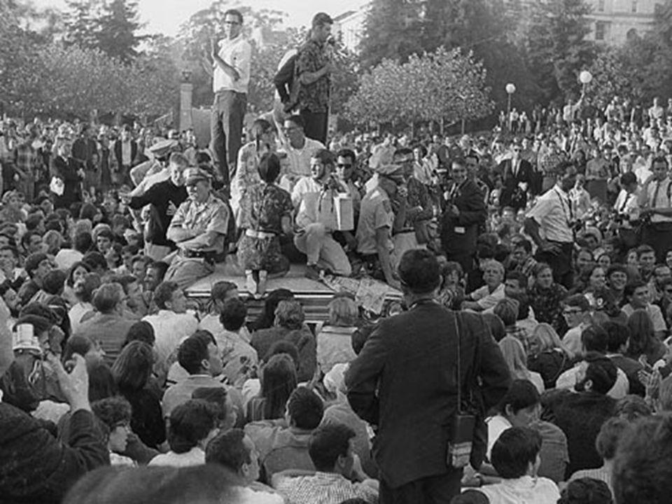  F.S.M. Rally @ UC-Berkley, 1964