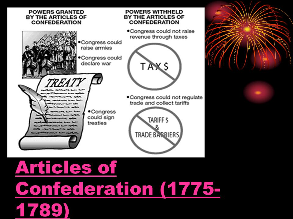 Articles of Confederation (1775- 1789)