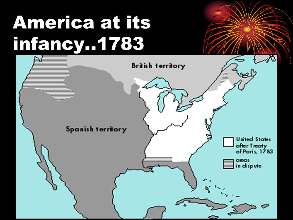 America at its infancy..1783