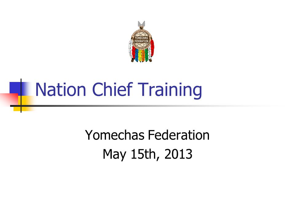 Nation Chief Training Yomechas Federation May 15th, 2013