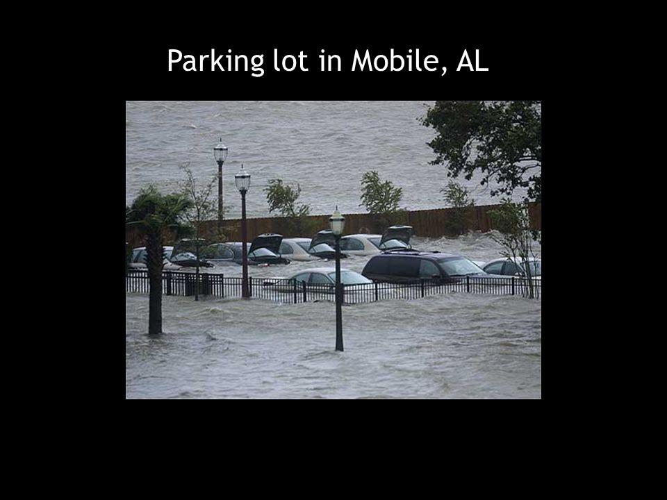 Parking lot in Mobile, AL