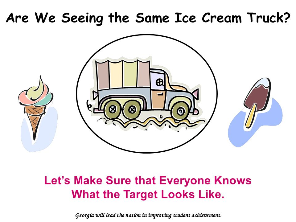 Are We Seeing the Same Ice Cream Truck.