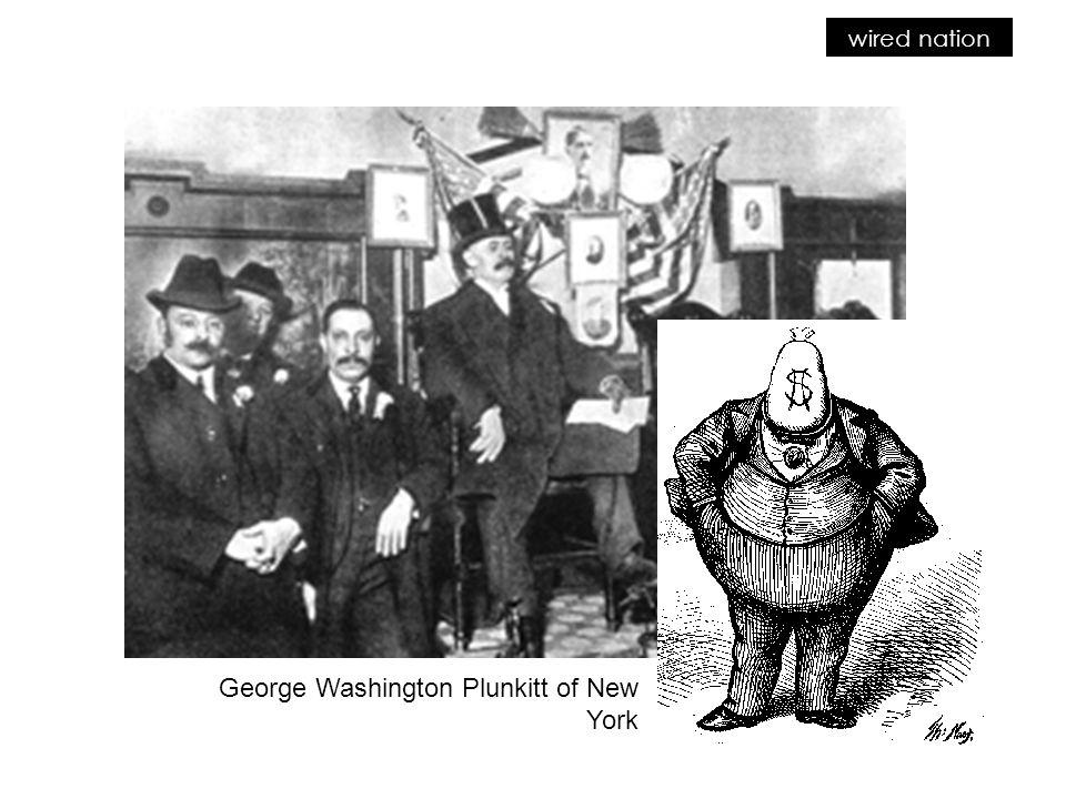George Washington Plunkitt of New York