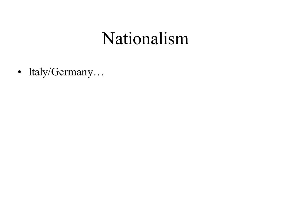 Nation-States & Imperialism I.Intro II.Nation-States A.Background B.Germany III.Imperialism A.Africa & Asia B.US IV.Conc.