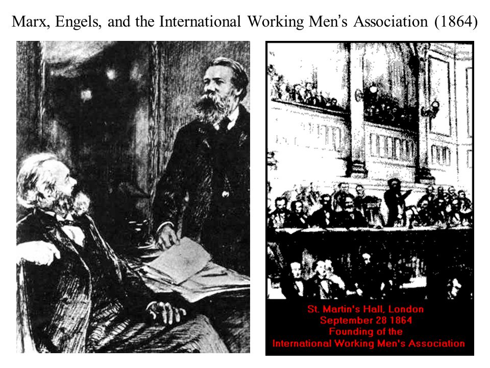 Marx, Engels, and the International Working Men's Association (1864)