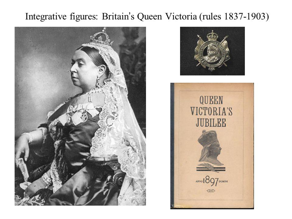 Integrative figures: Britain's Queen Victoria (rules 1837-1903)