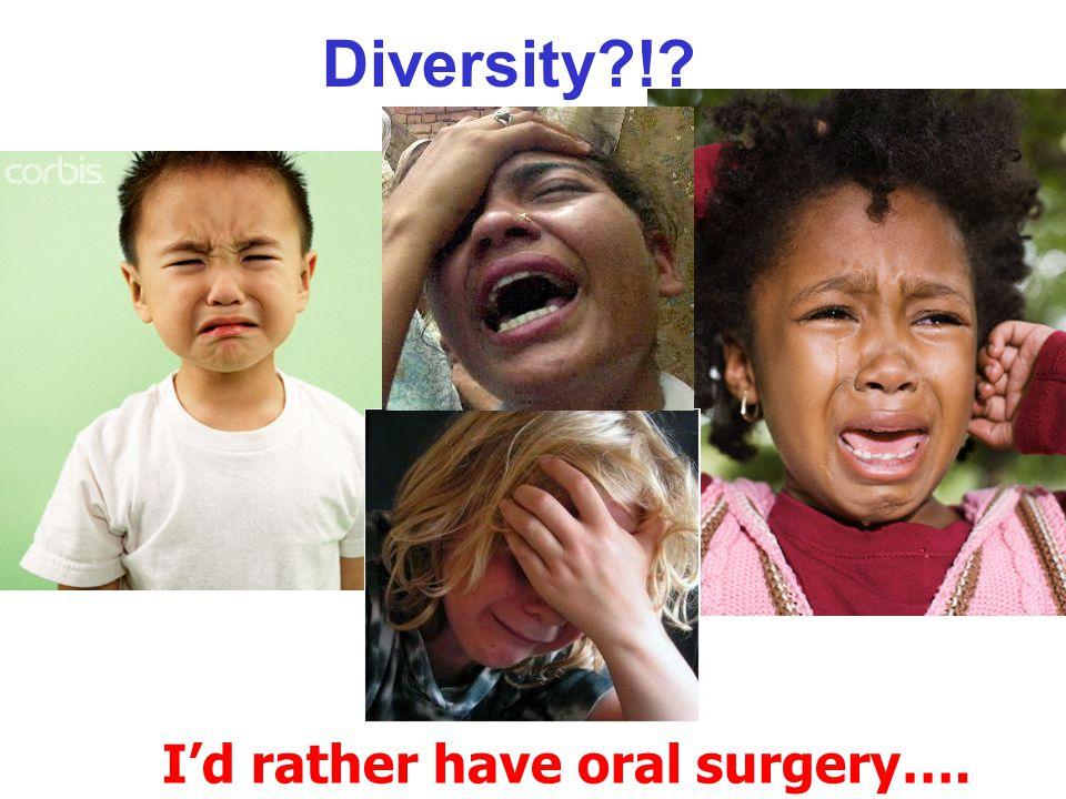 Diversity?!?