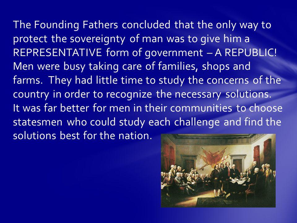 And so the Republic was born.