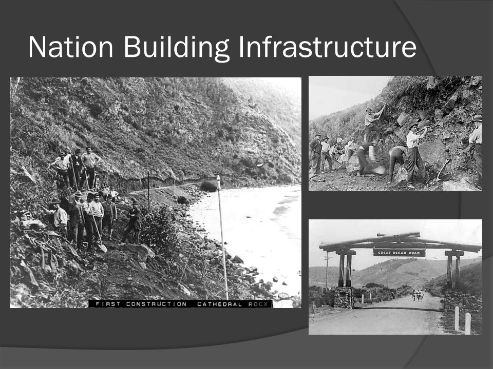 Nation Building Infrastructure