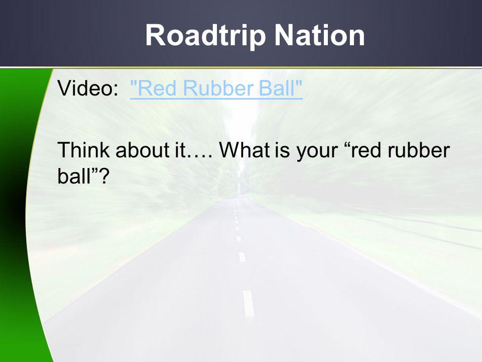 Roadtrip Nation Video: