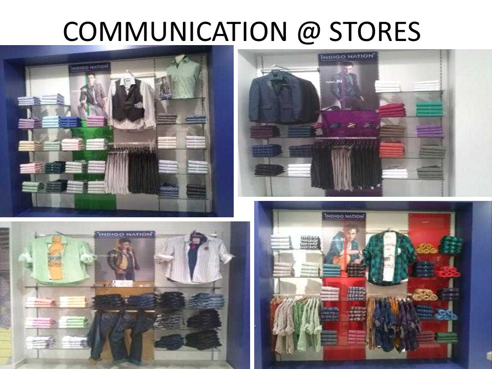 COMMUNICATION @ STORES