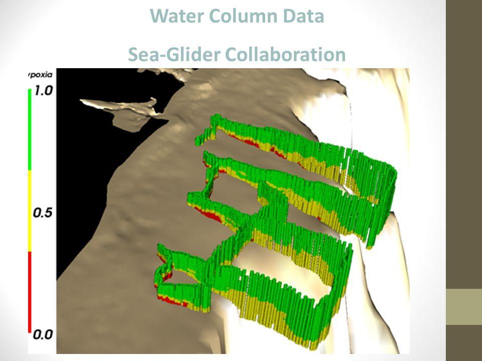 Water Column Data Sea-Glider Collaboration