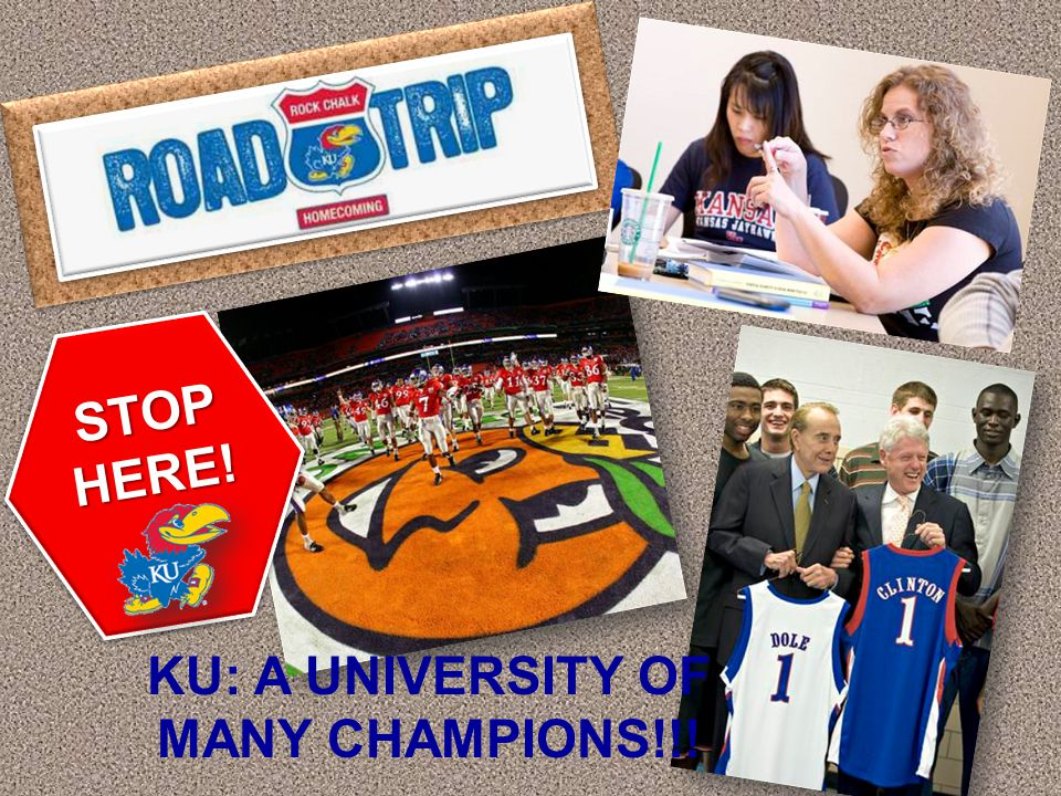 KU is the only public college in United States that has always admitted women. STOP HERE!