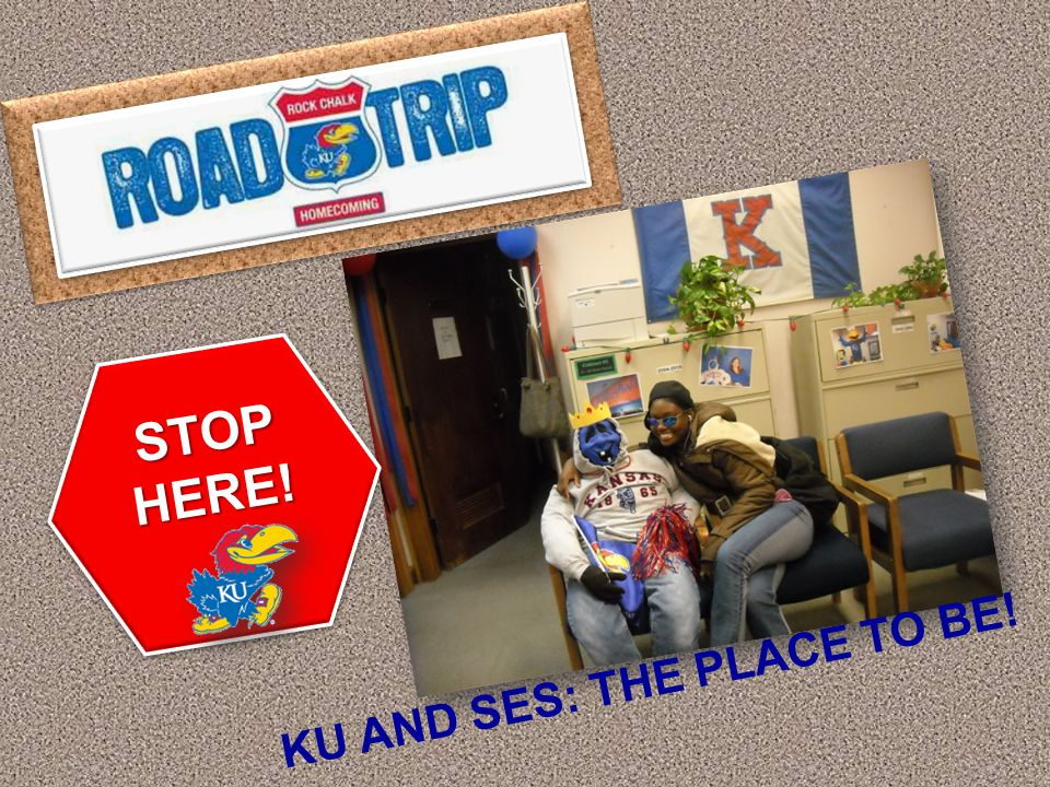 STOP HERE! SES HOMECOMING CELEBRATION!