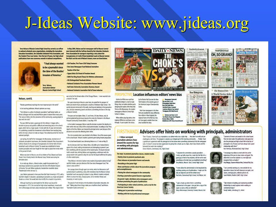 J-Ideas Website: www.jideas.org