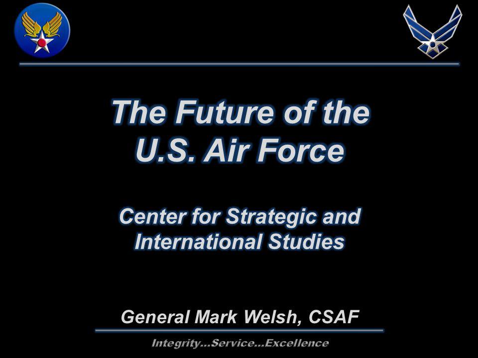 General Mark Welsh, CSAF