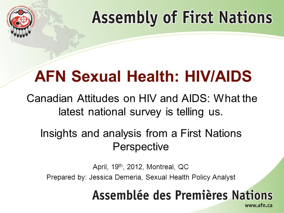 2 Who We Are The Assembly of First Nations (AFN) is the national representative organization of the First Nations in Canada.