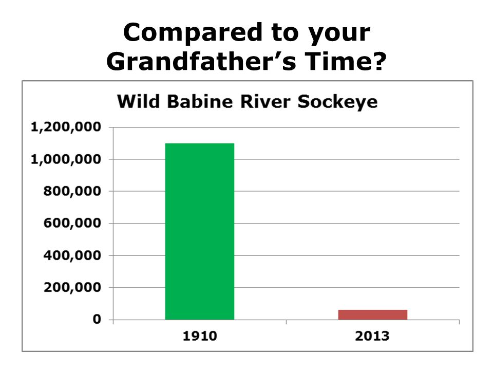 Compared to your Grandfather's Time