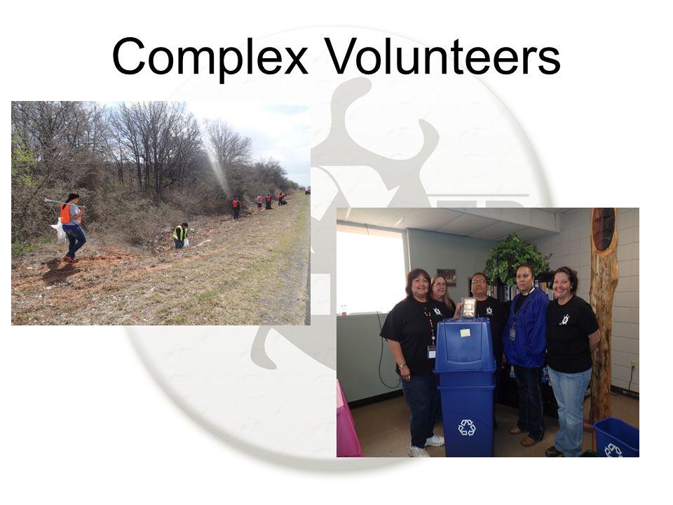 Complex Volunteers