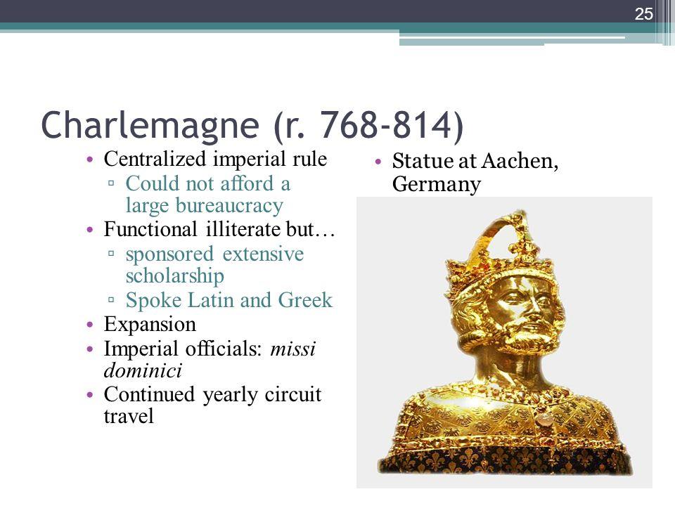 25 Charlemagne (r.