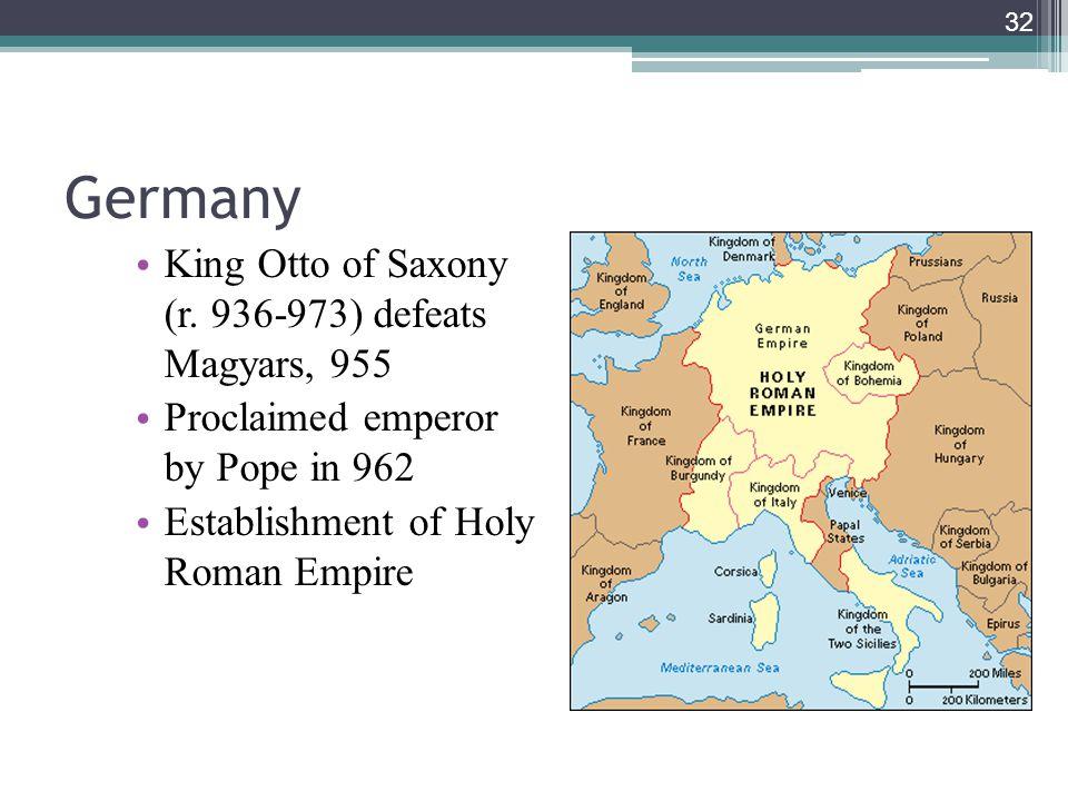 32 Germany King Otto of Saxony (r.