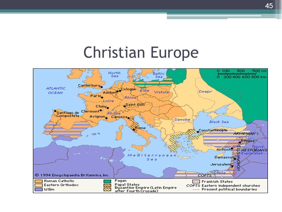 45 Christian Europe