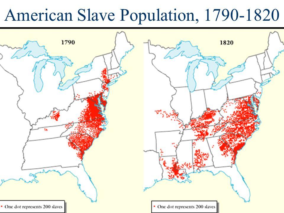 American Slave Population, 1790-1820