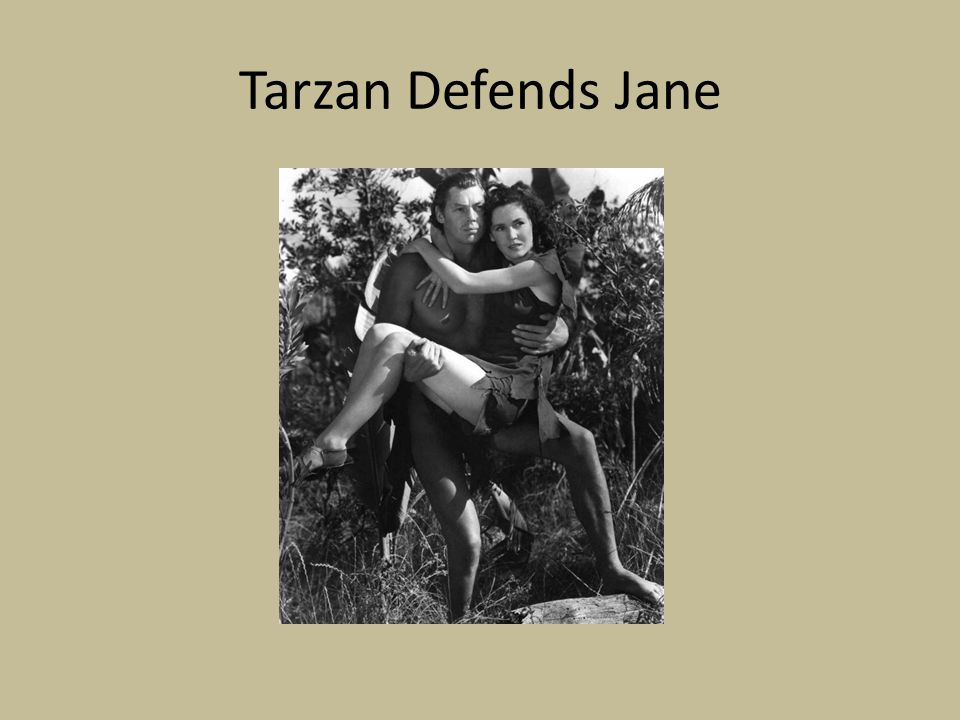 Tarzan Defends Jane