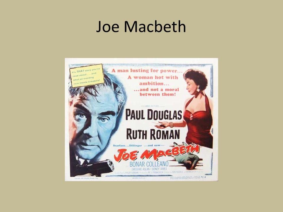 Joe Macbeth
