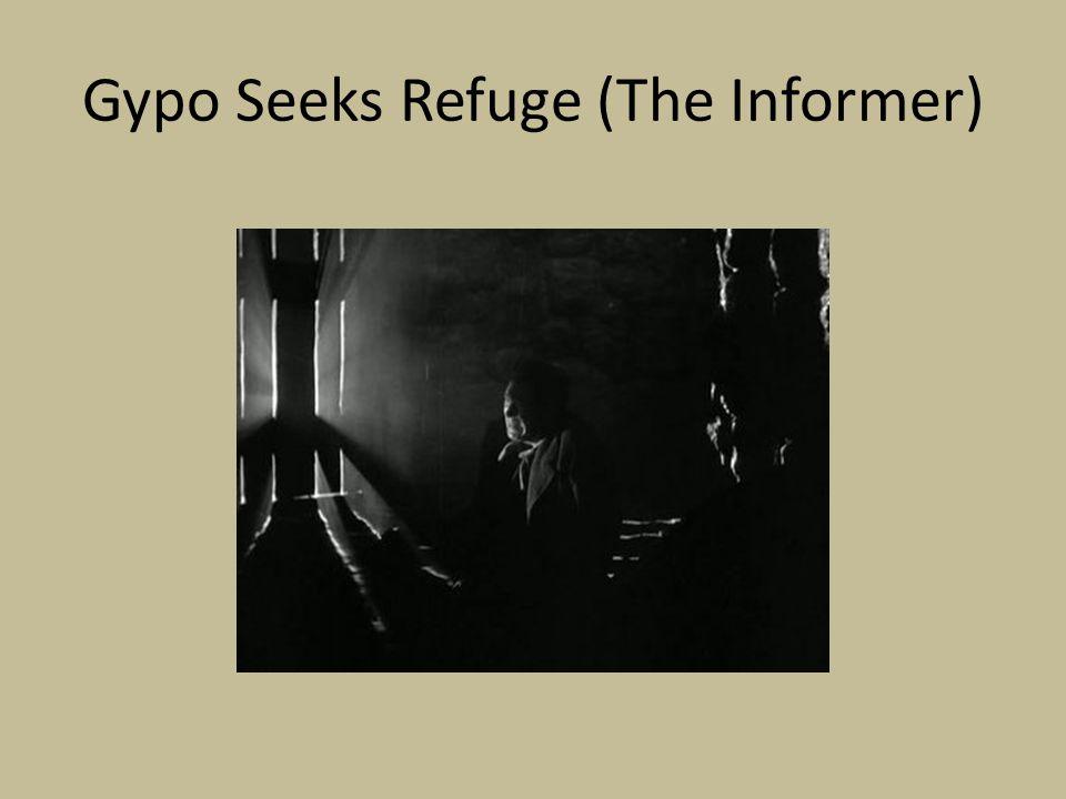 Gypo Seeks Refuge (The Informer)