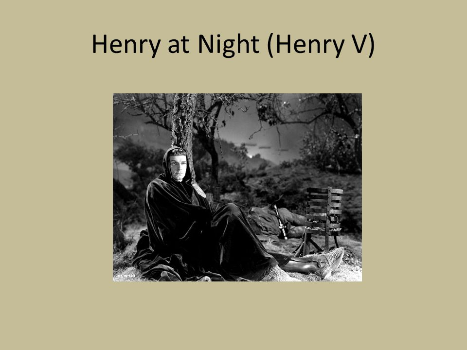 Henry at Night (Henry V)