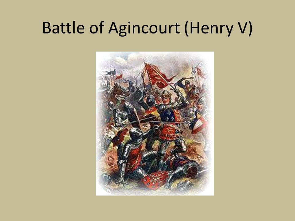 Battle of Agincourt (Henry V)